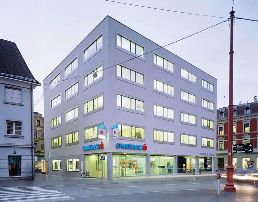 ee-consult Energieberater Vorarlberg, Kunde Sparkasse Zentrale Bregenz